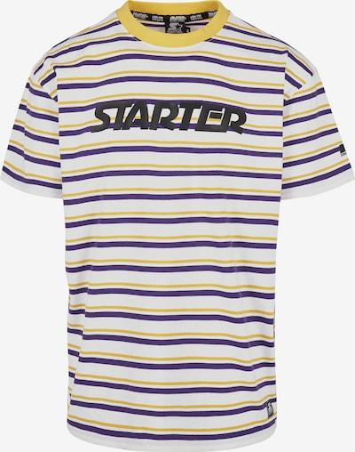 Starter Black Label Shirt in blau / gelb / schwarz / weiß, Produktansicht
