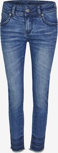 Blue Monkey Skinny Fit Jeans Laura mit Stickerei in blau, Produktansicht