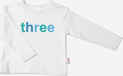 LILIPUT Langarmshirt mit coolem 'THREE'-Print in ecru, Produktansicht