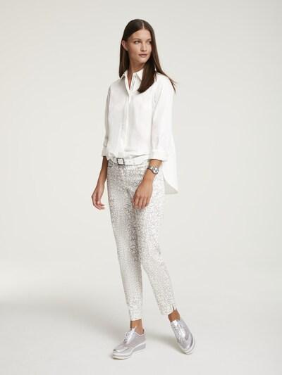 heine Bluse in weiß, Modelansicht