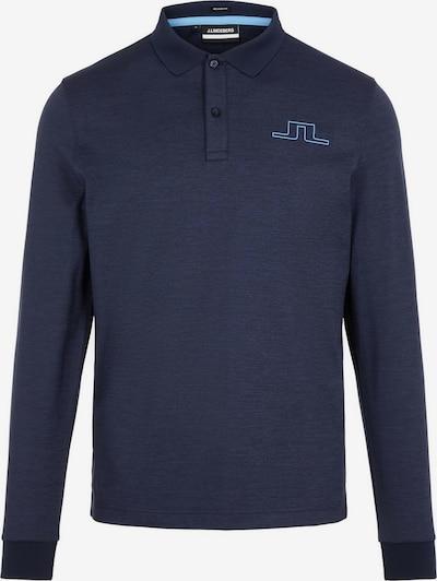 J.Lindeberg Poloshirt in blau, Produktansicht