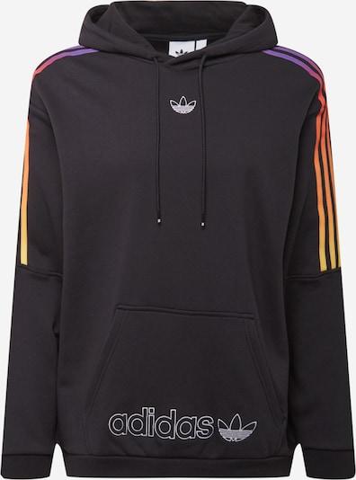 ADIDAS ORIGINALS Sweatshirt in neonlila / neonrot / schwarz / weiß, Produktansicht