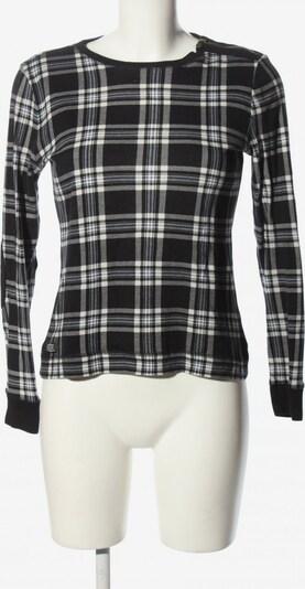 Lauren Jeans Co. Longsleeve in M in schwarz / weiß, Produktansicht