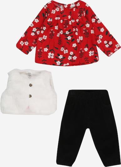 Carter's Set in rot / schwarz / weiß, Produktansicht