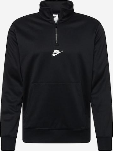 Nike Sportswear Sweatshirt 'REPEAT' in Black