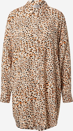 Camicia da donna Noisy may di colore beige / marrone / nero, Visualizzazione prodotti