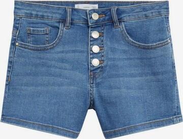 MANGO KIDS Jeans 'Rose' i blå