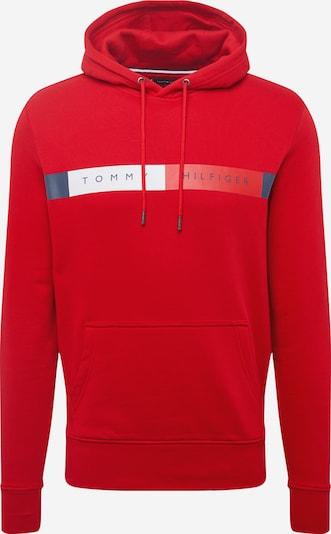 TOMMY HILFIGER Sweat-shirt en bleu nuit / rouge / blanc, Vue avec produit