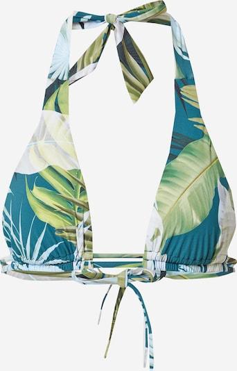 ETAM Bikini gornji dio 'HAILEY' u pastelno plava / svijetloplava / svijetlozelena / bijela, Pregled proizvoda