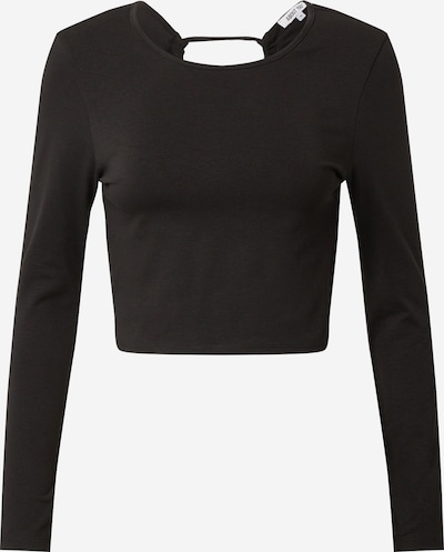 ABOUT YOU Тениска 'Lacey ' в черно, Преглед на продукта