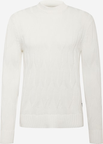 Pull-over Only & Sons en blanc