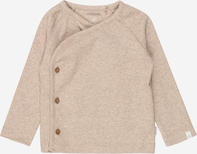 Noppies Langarmshirt in beige, Produktansicht