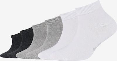s.Oliver Kurzsocken 'Originals' in grau / schwarz / weiß, Produktansicht