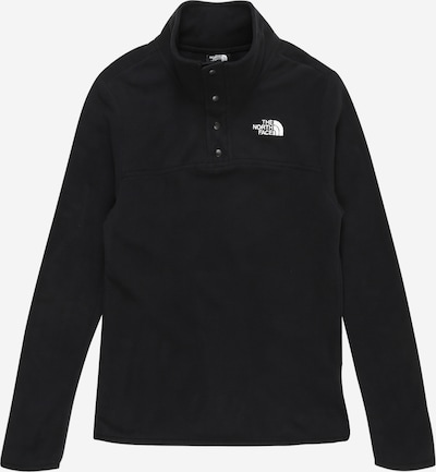 THE NORTH FACE Sport-Pullover 'GLACIER' in schwarz / weiß, Produktansicht