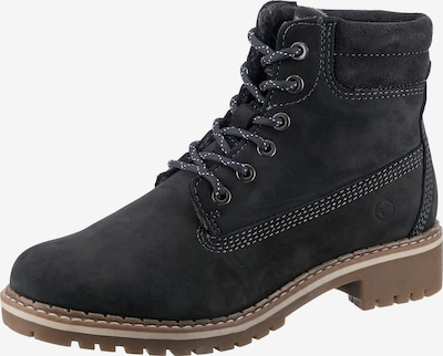 TAMARIS Lace-up bootie in Anthracite, Item view