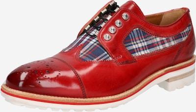 MELVIN & HAMILTON Chaussure à lacets en bleu / rouge rouille / blanc, Vue avec produit