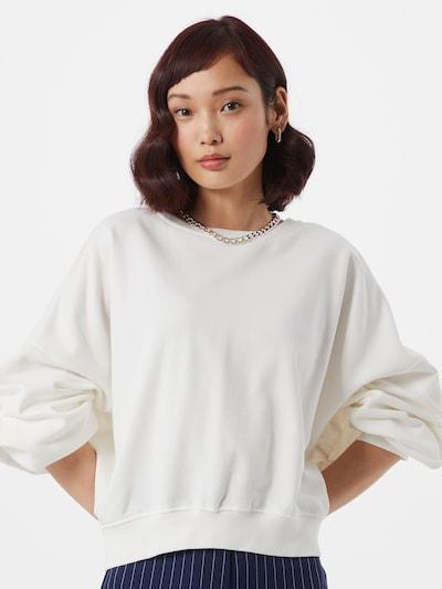 Cotton On Sweater majica 'Cleo' u bijela, Prikaz modela