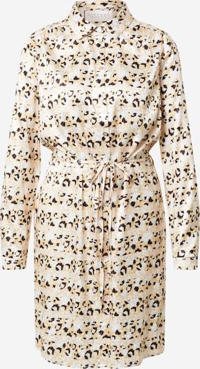 SISTERS POINT Kleid 'ERIKA' in beige / hellbraun / schwarz, Produktansicht