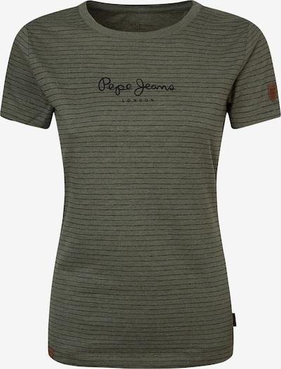 Pepe Jeans Shirt in grau / schwarz, Produktansicht