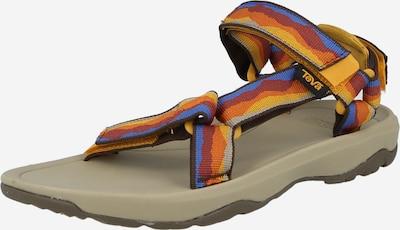 TEVA Otevřená obuv - královská modrá / zlatě žlutá / šedá / oranžová / červená třešeň, Produkt