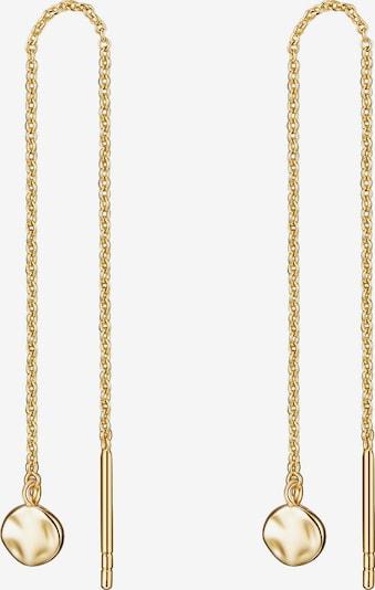 Glanzstücke München Silber-Ohrhänger in goldgelb, Produktansicht