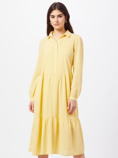 Rochie tip bluză EDC BY ESPRIT pe galben deschis, Vizualizare model