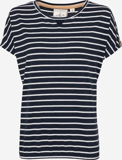 Fli Papigu T-shirt 'Lazarus Effekt' en bleu foncé, Vue avec produit