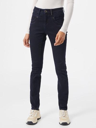 Claire Jeans in de kleur Donkerblauw, Modelweergave