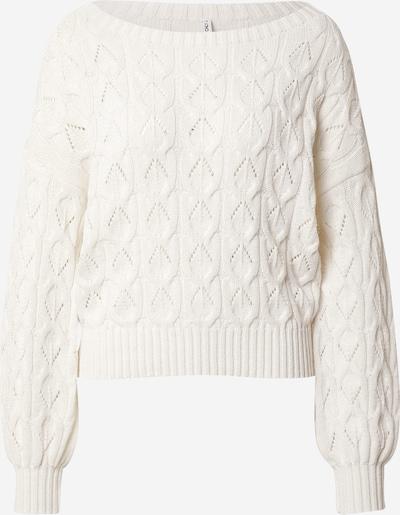 ONLY Pullover 'Brynn' in weiß, Produktansicht