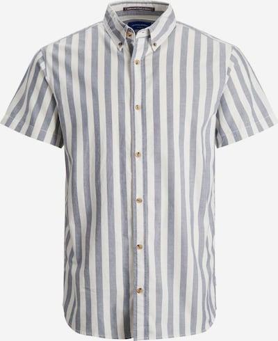 Jack & Jones Junior Overhemd in de kleur Lichtblauw / Wit, Productweergave