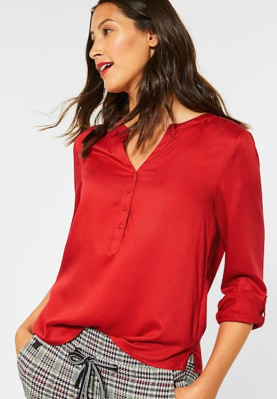 STREET ONE Bluse in rot, Modelansicht