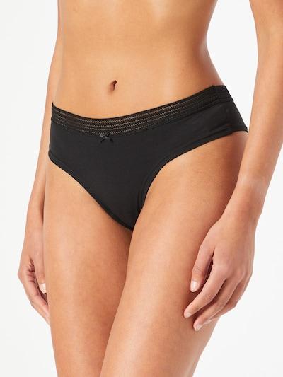 ETAM Panty in grau / schwarz: Frontalansicht