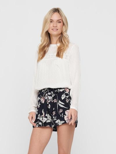 ONLY Bluse 'PELIA' in weiß, Modelansicht