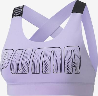 PUMA Sport bh in de kleur Sering / Zwart, Productweergave
