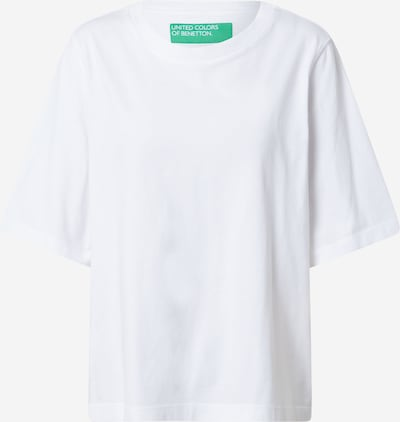 UNITED COLORS OF BENETTON T-Shirt in offwhite, Produktansicht
