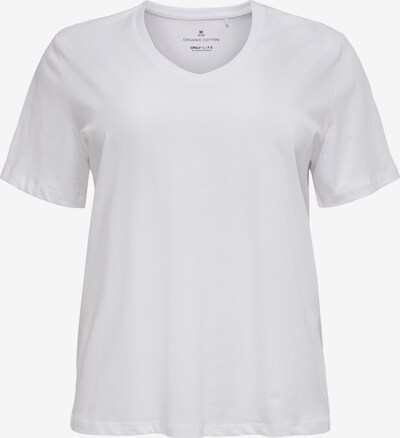 ONLY Carmakoma T-Shirt 'CARASTA' in weiß, Produktansicht