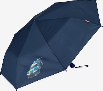 MCNEILL Regenschirm in nachtblau / himmelblau / schwarz, Produktansicht
