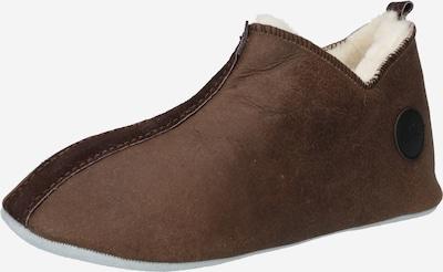 Papuci de casă 'HENRIK' SHEPHERD pe ciocolatiu / sepie, Vizualizare produs