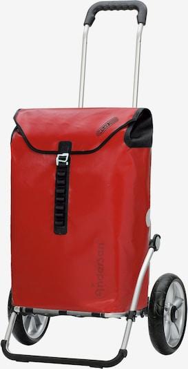 Andersen Shopper Einkaufstrolley 'Ortlieb' in rot, Produktansicht