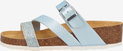 COSMOS COMFORT Mule en bleu pastel, Vue avec produit