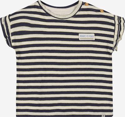 Marc O'Polo Junior T-Shirt en bleu marine / jaune / blanc, Vue avec produit