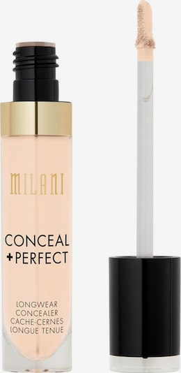 Milani Concealer 'Conceal & Perfect Long Wear' in gold / schwarz / transparent: Frontalansicht