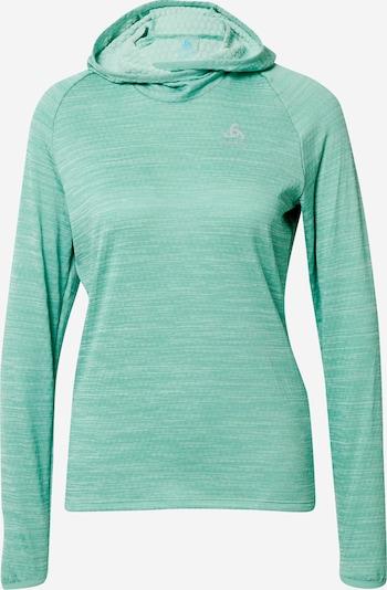 ODLO Sportsweatshirt 'Millennium Element' in grünmeliert, Produktansicht