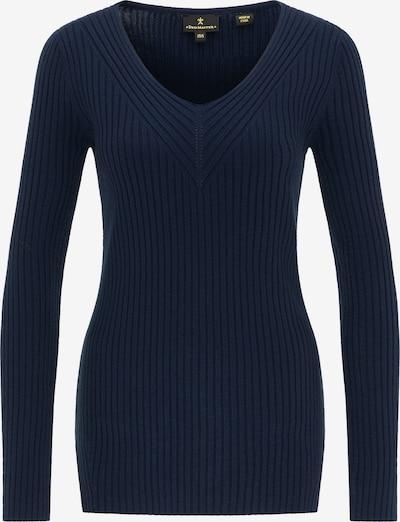 DreiMaster Klassik Pullover in blau, Produktansicht