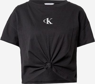 Calvin Klein Swimwear Shirt in Black / White, Item view