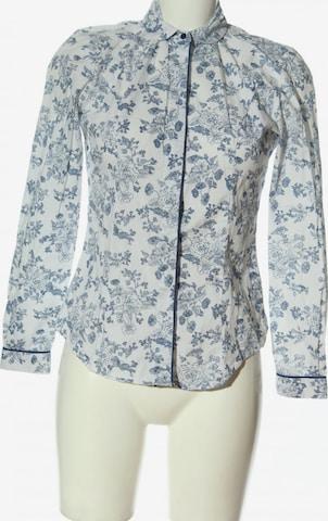 TM Lewin Langarmhemd in S in Weiß