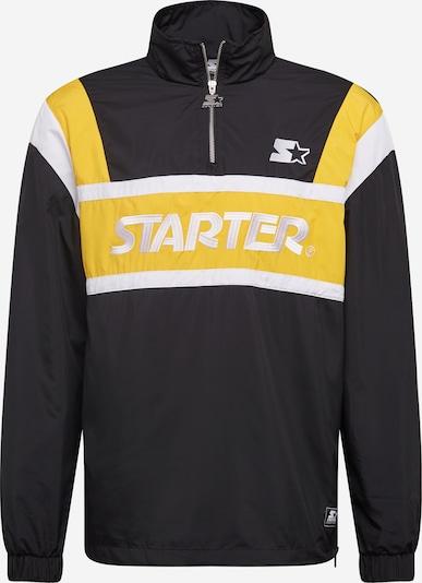 Starter Black Label Between-season jacket in Yellow / Black / White, Item view