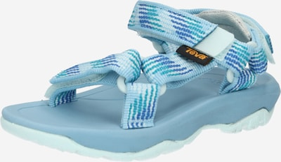 TEVA Chaussures ouvertes en bleu marine / aqua / bleu clair, Vue avec produit