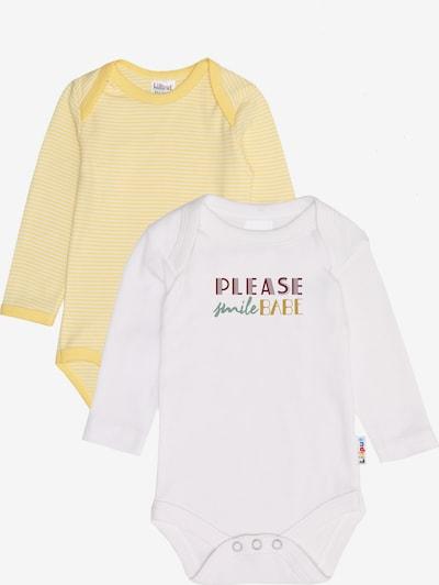 LILIPUT Body in gelb / weiß, Produktansicht