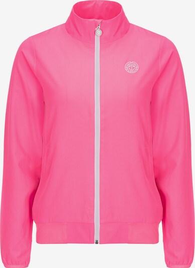BIDI BADU Trainingsjacke Piper mit Markenlogo in pink, Produktansicht